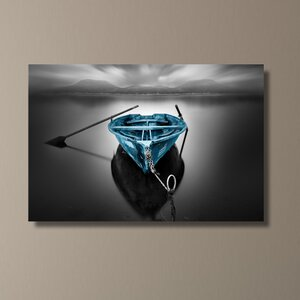 Bote Fugado Dark Pop by Moises Levy Photographic Print on Wrapped Canvas by Pingo World
