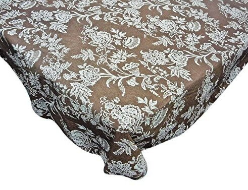 Shailja Floral Cheer Vinyl Flannel Backed Tablecloth by Red Barrel Studio