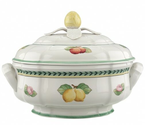 French Garden Fleur Soup Tureen by Villeroy & Boch