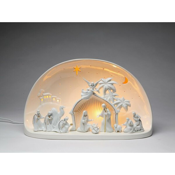 Nativity Scene Dome Night Light by Cosmos Gifts