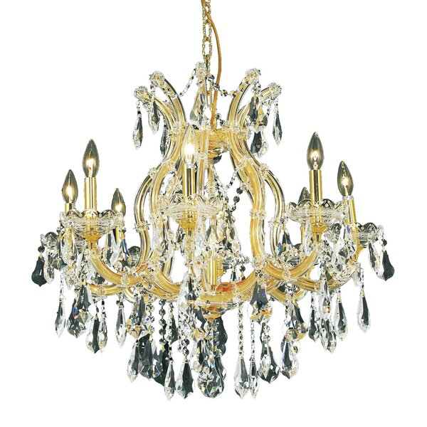 Regina 9 - Light Candle Style Classic Chandelier By House Of Hampton