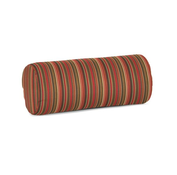 Rysing Sunbrella Stripe Outdoor Bolster Pillow by Bay Isle Home