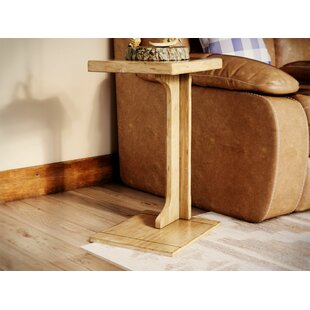 Great choice Bark Ranch End Table ByLoon Peak