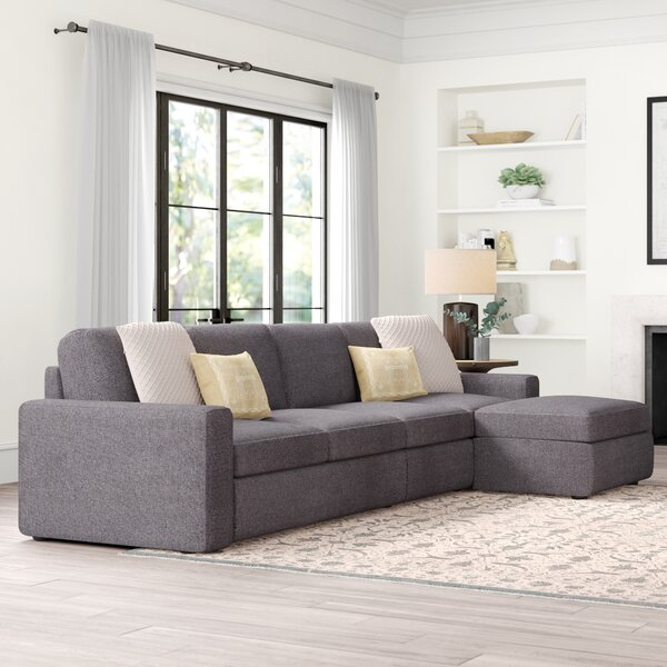 Cool Collection Gosnell Reversible Modular Sectional by Greyleigh by Greyleigh