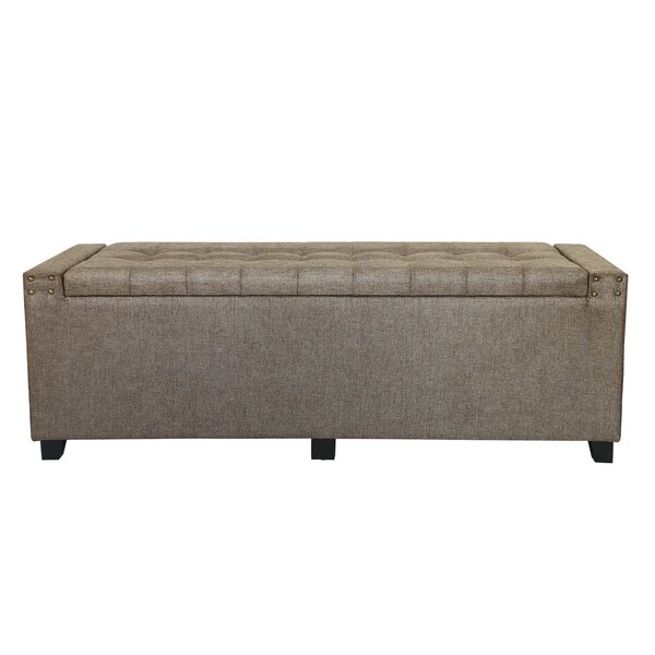 Vanzant Tufted Storage Ottoman by Winston Porter