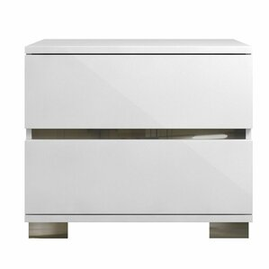 Spark 2 Drawer Nightstand by Casabianca Furniture