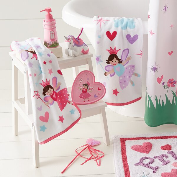 Tierra Princess Bath Rug by Zoomie Kids