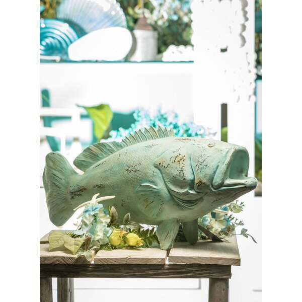 Clarion Fish Figurine by Breakwater Bay