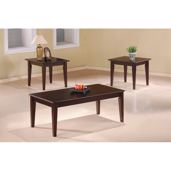 Ione 3 Piece Coffee Table Set by Wildon Home ®