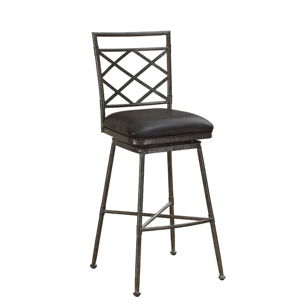 Buckland 30 Swivel Bar Stool by Darby Home Co