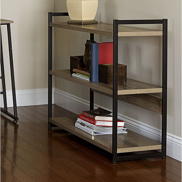 Ashwood Etagere Bookcase by Household Essentials