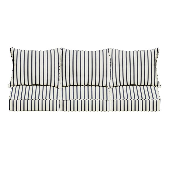 Whitten Indoor/Outdoor Sunbrella Sofa Cushion (Set of 6)
