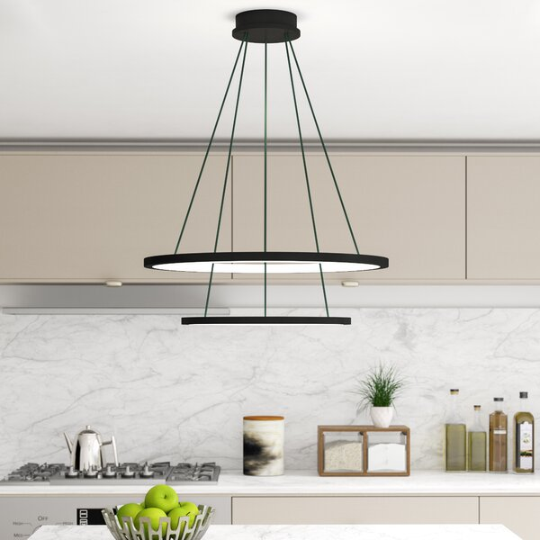 Colindale Modern WiFi-Enab LED  Chandelier by Wade Logan