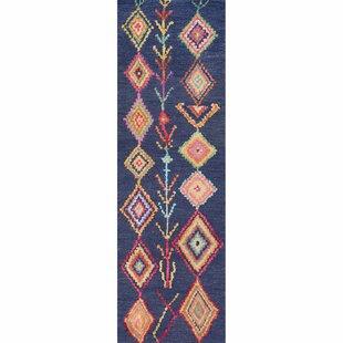 Claretta Hand-Tufted Blue Area Rug by Mistana