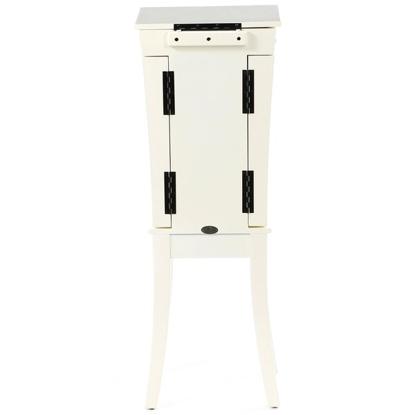 Eill Tower Jewelry Armoire with Mirror by Wildon Home ®