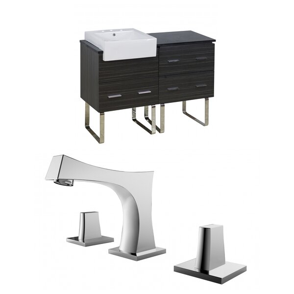 Mulberry Floor Mount 48 Single Bathroom Vanity Set by Royal Purple Bath Kitchen