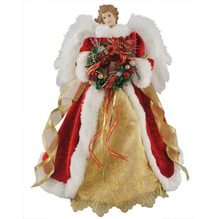 Light Up Angel Tree Topper Wayfair