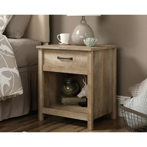 Canalou 1 Drawer Nightstand by Foundry Select