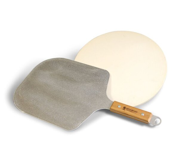 Pro Peel and Cordierite Stone Kit by KettlePizza