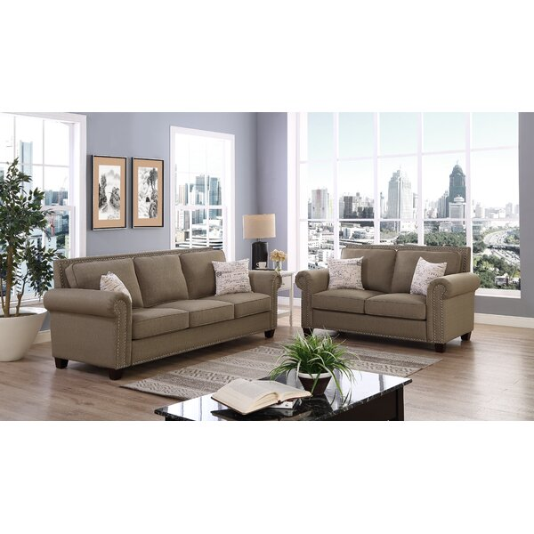 Ashlyn 2 Piece Living Room Set by Alcott Hill