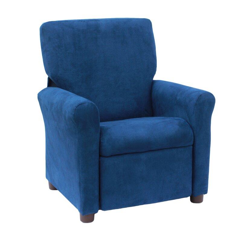 Juvenile Urban Estate Kids Microsuede Recliner Chair