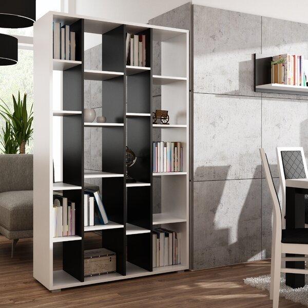 Review Cortland Geometric Bookcase