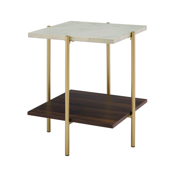 Laduke End Table With Storage By Mercury Row