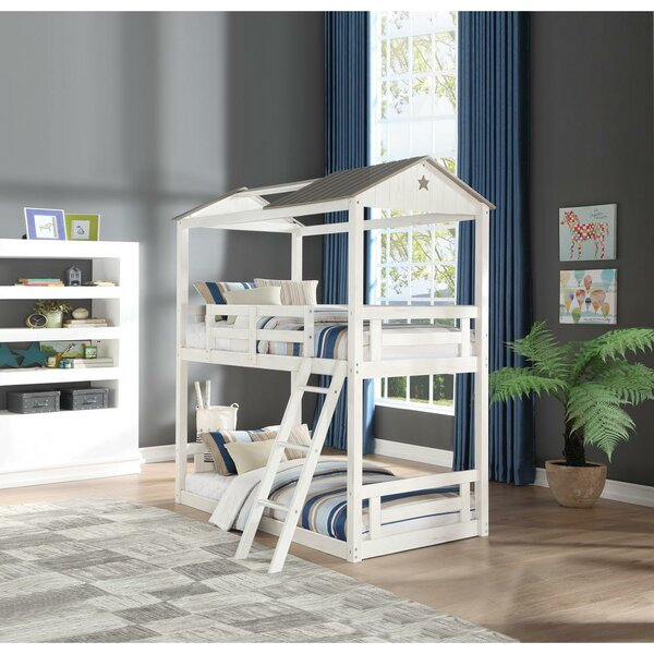 Cooley Cottage Twin over Twin Bunk Bed by Isabelle & Max