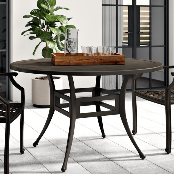 Premont Aluminum Dining Table by Greyleigh