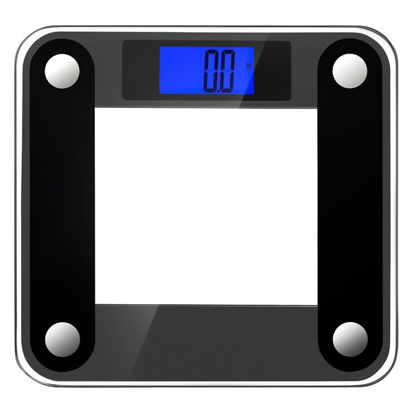 Precision II Bath Scale with Sensor Technology and Weight Change Detection by Ozeri