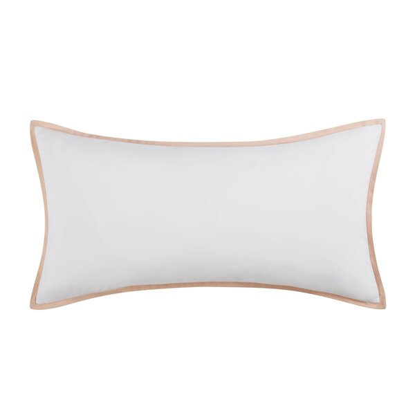 Lyon Blush Decorative Bolster Pillow by Vince Camuto