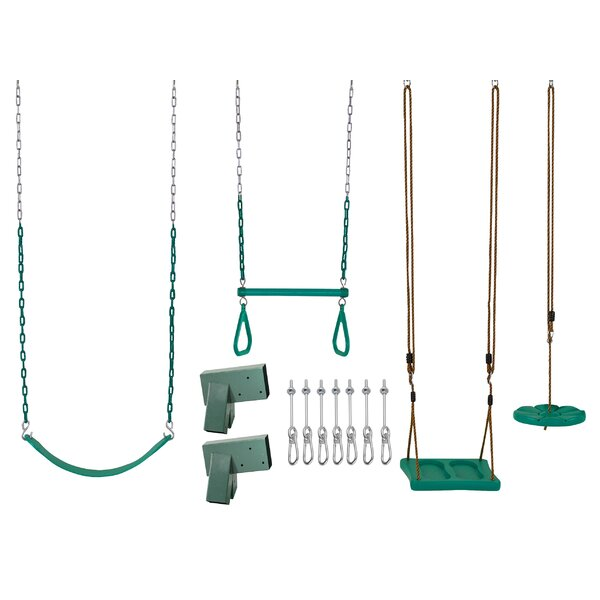 DIY Kit Swing Set (Wood Not Included) by Swingan