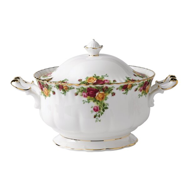 Old Country Roses 146 oz. Tureen by Royal Albert