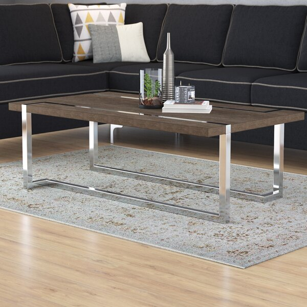 Aubuchon Coffee Table by Wade Logan Wade Logan