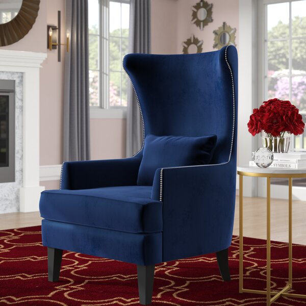 Jacinto Wingback Chair by Willa Arlo Interiors
