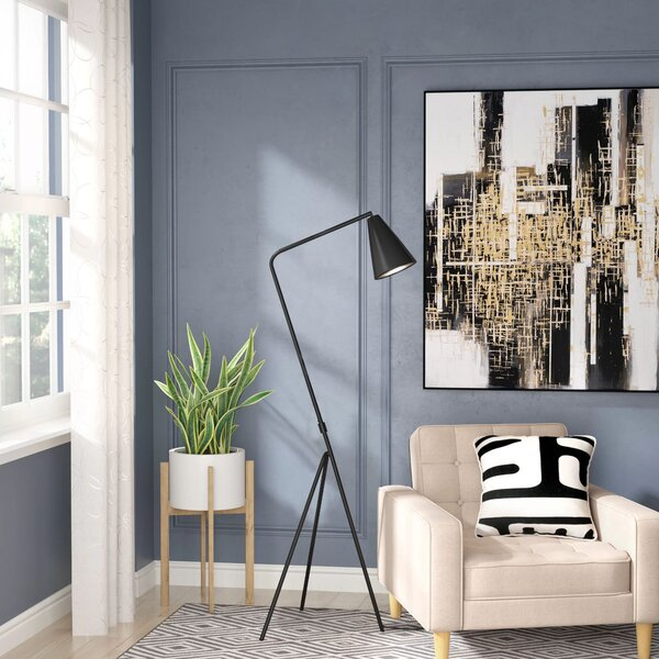 Andice Metal 62.75 Tripod Floor Lamp by Langley Street