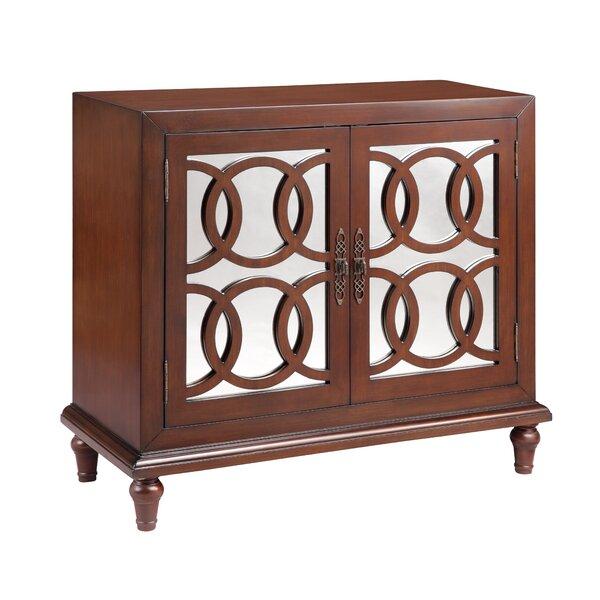 Hartwell 2 Door Mirrored Accent Cabinet