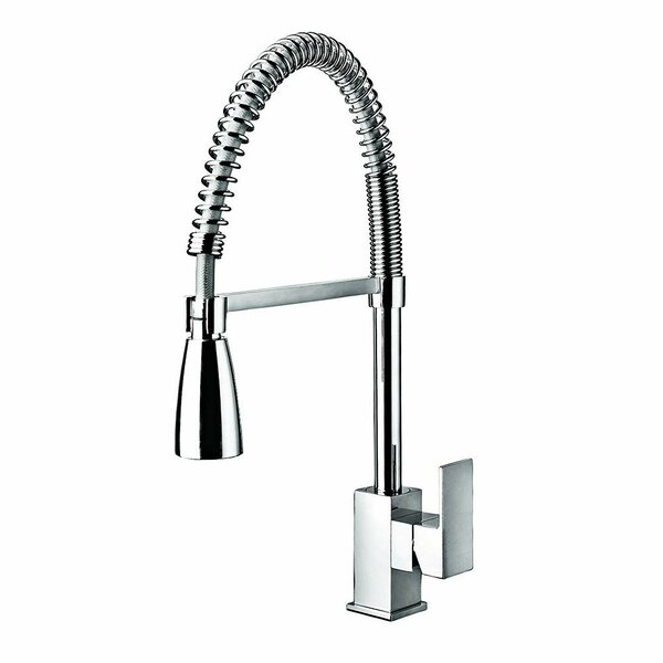 Pull Down Single Handle Kitchen Faucet by HEATGENE HEATGENE