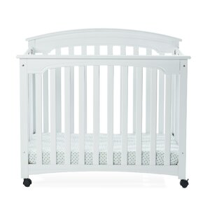 Stanford Folding Crib with Mattress