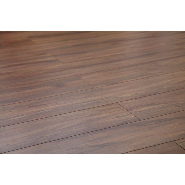 Original 47.85 x 4.96 x 15mm Laminate Flooring in Roasted Espresso by Dekorman
