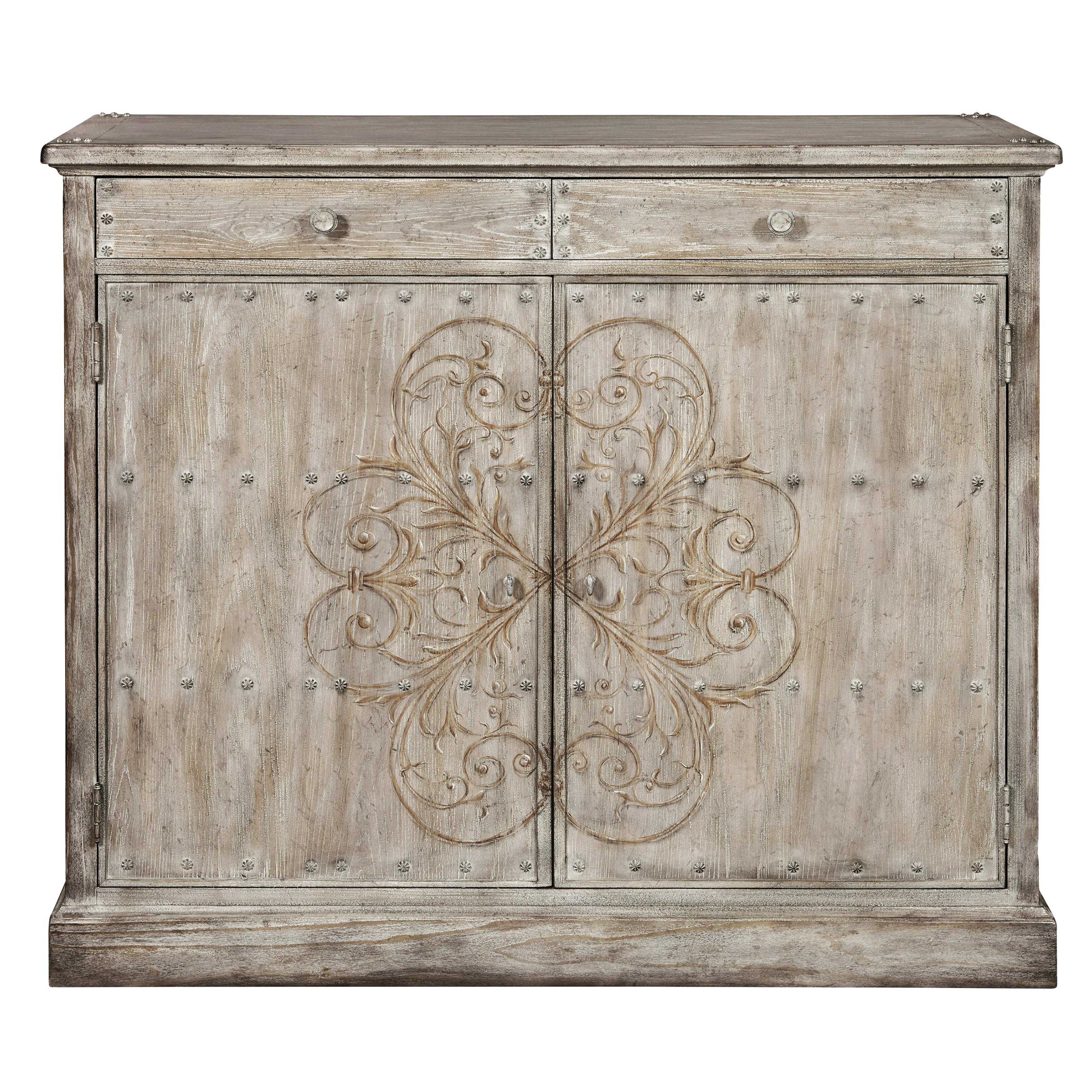 One Allium Way Cillian 2 Door Accent Cabinet & Reviews | Wayfair