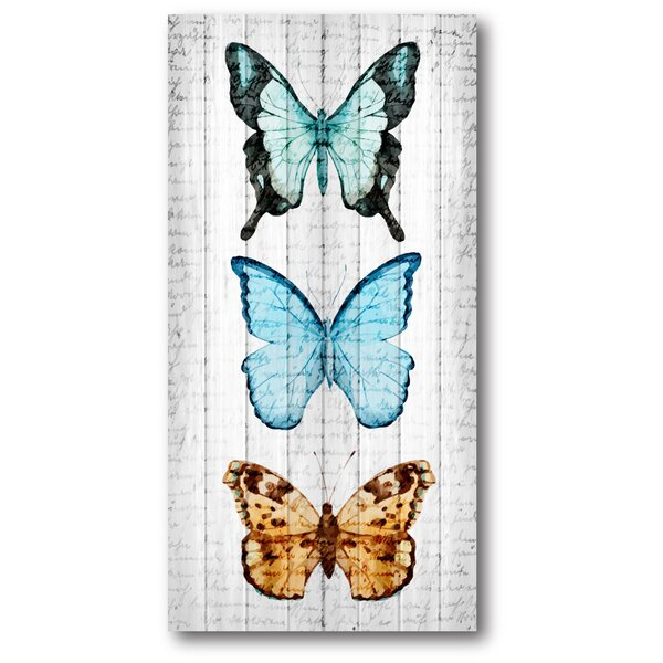 Butterfly Painting Print by Courtside Market