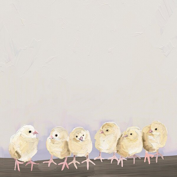 Baby Chicks by Cathy Walters Canvas Art by Oopsy Daisy