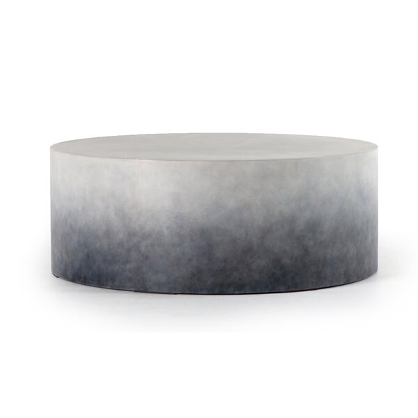 Scates Stone/Concrete Coffee Table by Union Rustic