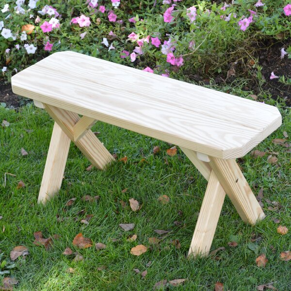 Springport Wood Picnic Bench by Loon Peak