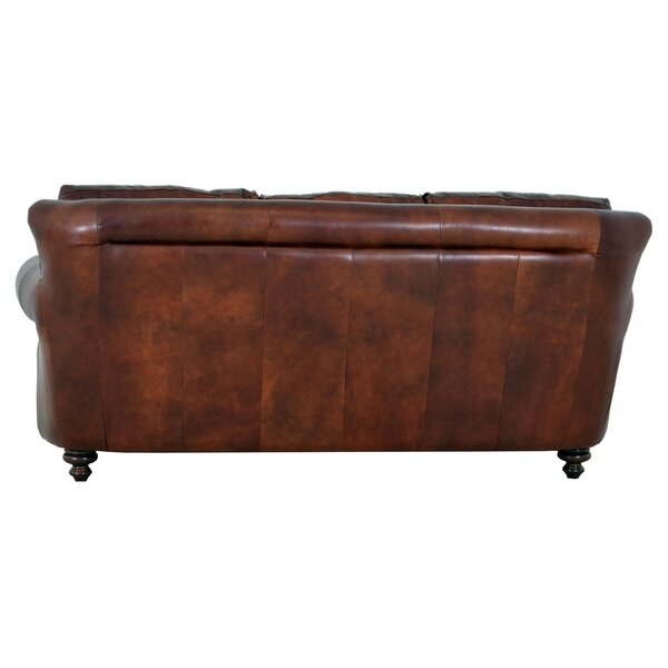 Clinton Leather Sofa by Westland and Birch