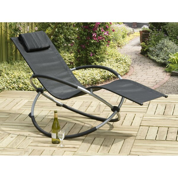 Orbit Relaxer Rocking Chair by SunTime Outdoor Living