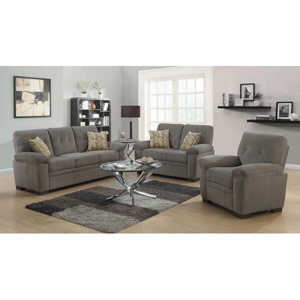 Robbe 3 Piece Living Room Set by Latitude Run