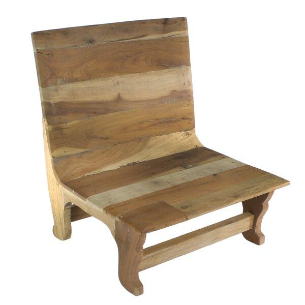 Hecker Wooden Low Seated Side Chair by Loon Peak Loon Peak