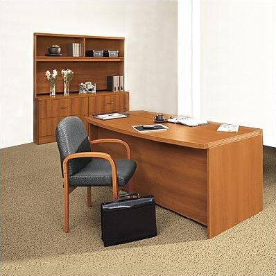 Correlation 3-Piece Desk Office Suite by Global Total Office